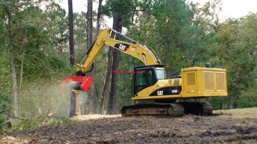 BH40 Excavator Mulcher