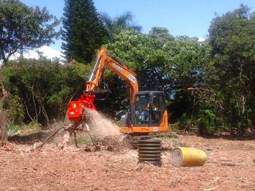 CEM36 Excavator Mulcher Case