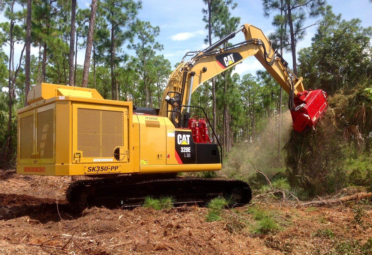 Cat Excavator Mulcher FMX50