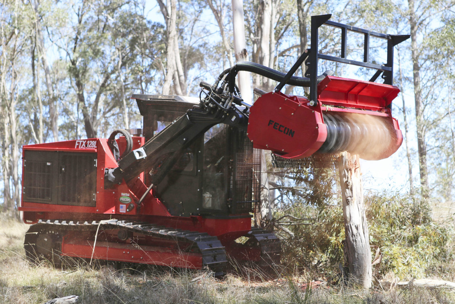 Fecon FTX Forestry Tractor