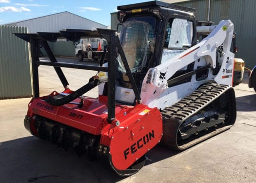 Skid Steer Mulcher Bobcat