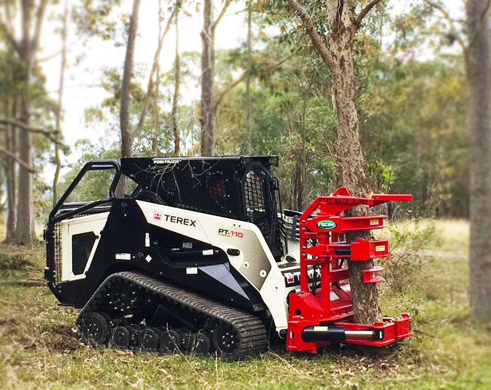 Tree Shears Fecon Australia Forestry Mulchers Grinders