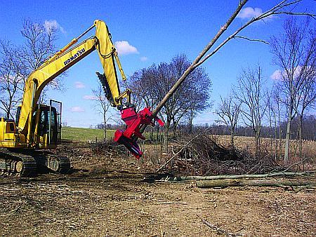 Excavator Tree Shears 1