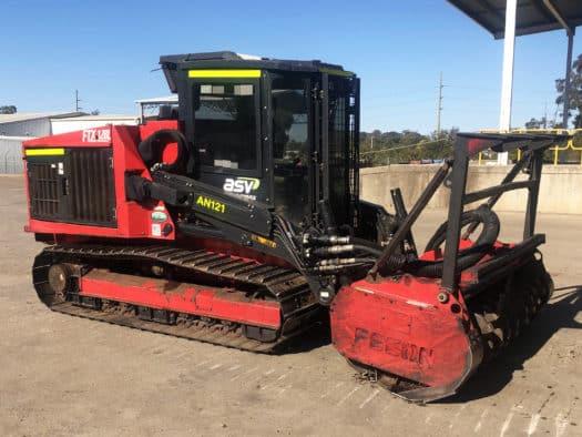 Fecon FTX Mulching Tractor Mulcher for Sale Used