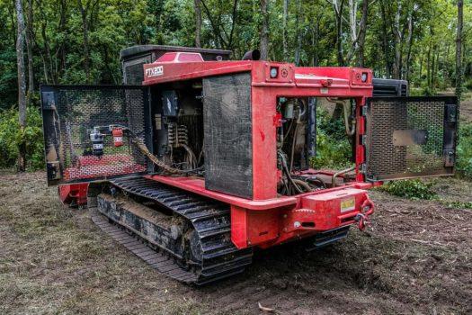 Fecon-FTX200-Mulching-Tractor-Service